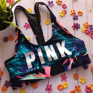 *LAST CHANCE* Pink Ultimate Unlined Sports Bra, SM